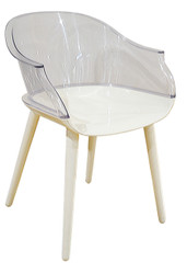 Paris Bistro Chair in Clear