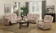 Athens 6 Seater Recliner in Creme Brulee