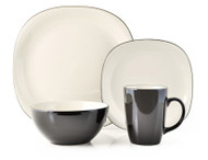 Thomson Pottery 16 Piece Dinnerware Set - Bali Latte
