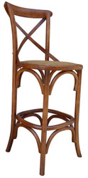 Allan Bar Chair in Brown