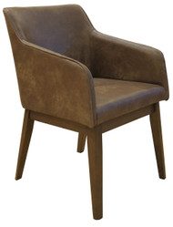 Grafton Dining Chair in D-Mocha Fabric