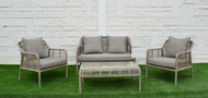 Tyler 3Pc Sofa Set + Coffee Table - OUT OF STOCK