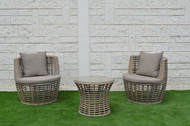 Vase 3Pc Patio Set