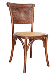 Parma Bistro Chair in Brown