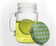 Mason Jar With Lid 450ml
