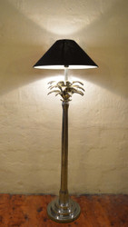 Palm Tree Floor Lamp In Alluminium (OC/2360/AL)