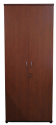 Cosmo 4T Swing Door Cabinet in Red Apple