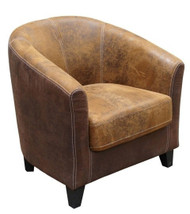 Bogoria Easy Chair in C375 & C257 Fabric - OUT OF STOCK