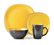 Thomson Pottery 16 Piece Dinnerware Set - Bali Yellow