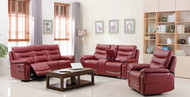 Edessa 7 Seater Recliner in Red