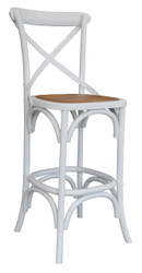 Allan Bar Chair in White