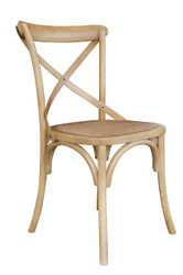 Allan Bistro Chair in Natural Finish