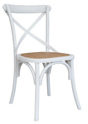 Allan Bistro Chair in White