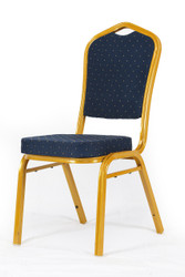 Banquet Chair in Blue D055P