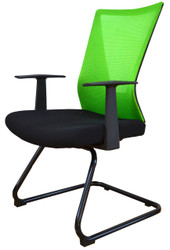 Visitor Chair HT-7068DEX in Green