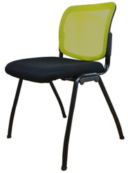 Visitor Chair D061 in Yellow