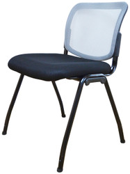 Visitor Chair D061 in Light Grey