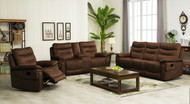 Edessa 7 Seater Recliner in Mustang