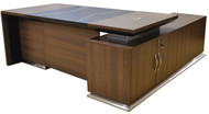 Empire Executive Desk in Dark Oak
