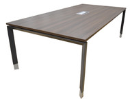 Empire Conference in Dark Oak Table 2.4m x 1.2m