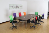 Empire Conference Table in Dark Oak 3.2m x 1.4m