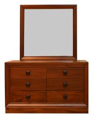 Barcelona Dresser With Mirror