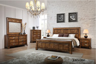 Milanee Queen Bed with 2 Bedside Cabinets