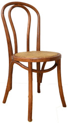 Bentwood Bistro Chair in Brown