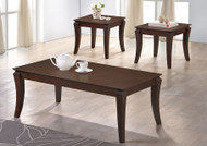 Surrey Coffee Table + 2 Stools in Ant. Oak