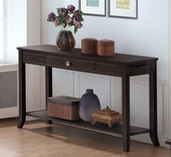 Shanghai 1 Drawer Console Table In Cappuccino