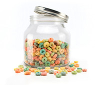 Cookie Jar With Screw Top Lid 2000ml