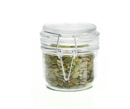 Retro Glass Jar With Clip Lid 200ml