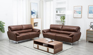 Boston 5 Seater Sofa Set in Yellow Brown - OUT OF STOCK