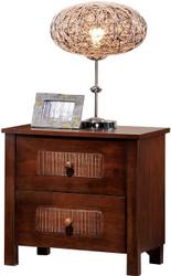 Dobbin Bedside Cabinet in Dark Walnut