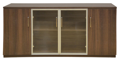 Credenza Dark Wood : Vintage australian dark wood buffet sideboard good condition