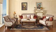Bernadette 7 Seater Sofa Set + Coffee Table & 2 Stools - OUT OF STOCK