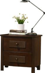 Dobbin Bedside Cabinet in Ant Oak - OUT OF STOCK