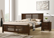 Dobbin Bed in Ant Oak - Queen - OUT OF STOCK