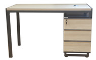 Staten Desk With Fixed Drawers In Elm 1.2m x 0.6m