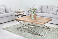 Criss Cross Legs Coffee Table