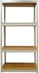 Bottomless Shelving Cabinet With 4 MDF Shelves