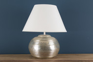 Table Lamp In Nickel Plated (L3681)