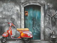 Painting - Skooter Scene (B2649(