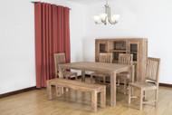 Mexico Dining Table In Acacia Wood
