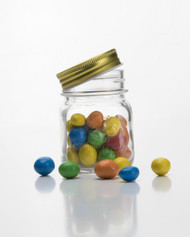 Glass Jar With Screw Top Lid 150ml