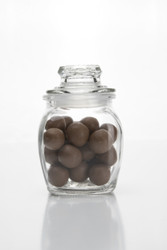 Retro Glass Jar With Lid 200ml