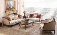 Valerie 3,2,1,1 Sofa Set + Coffee Table & 2 Stools