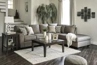 Calicho L Shaped Sofa Set in Cashmere Fabric