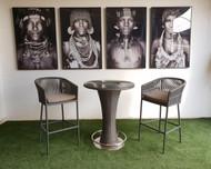 Charming Circular Bar Table