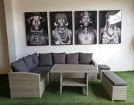Villa Corner Sofa Set